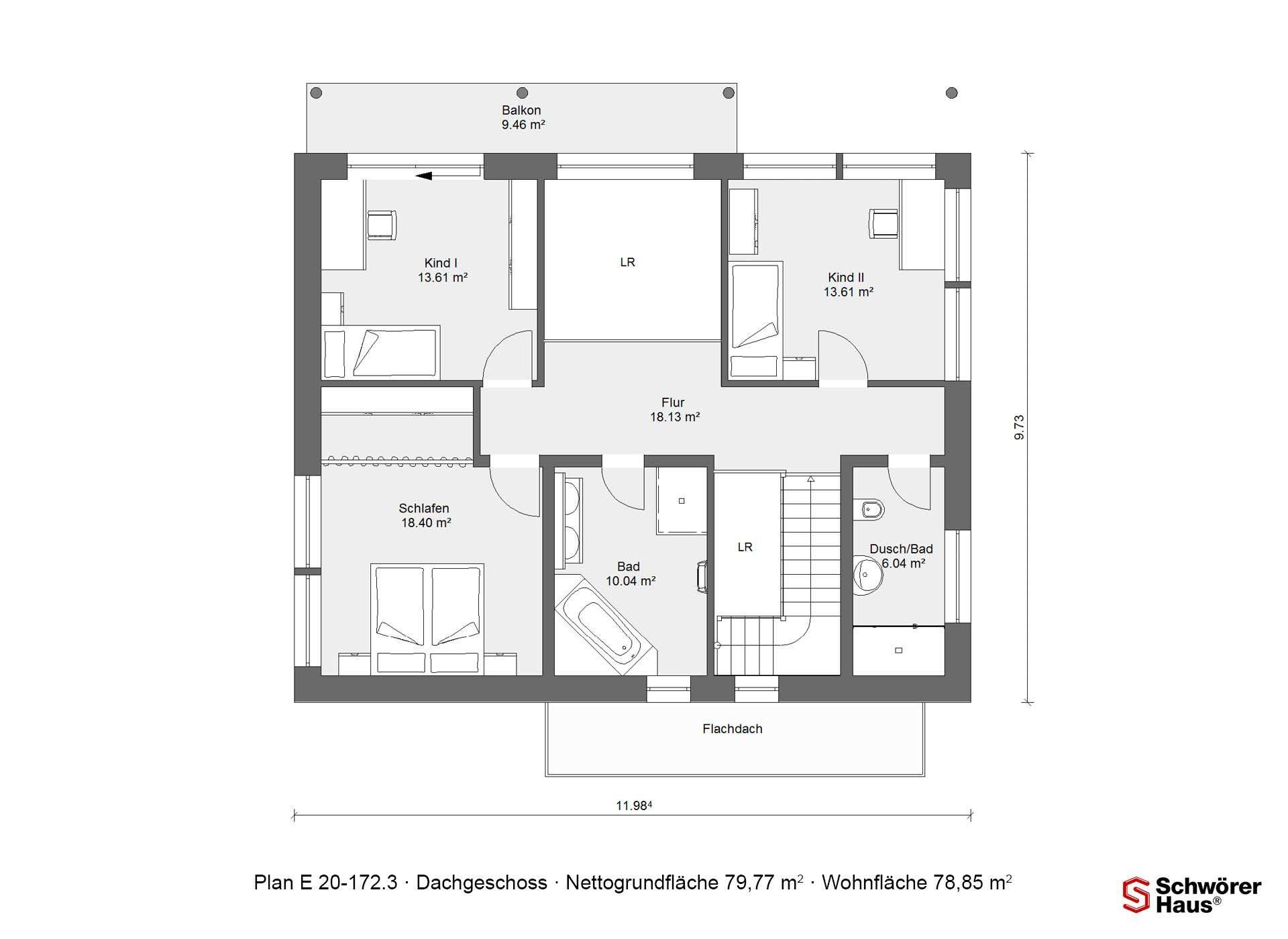 Musterhaus in Suhr - Ein Screenshot eines Handys - Gebäudeplan