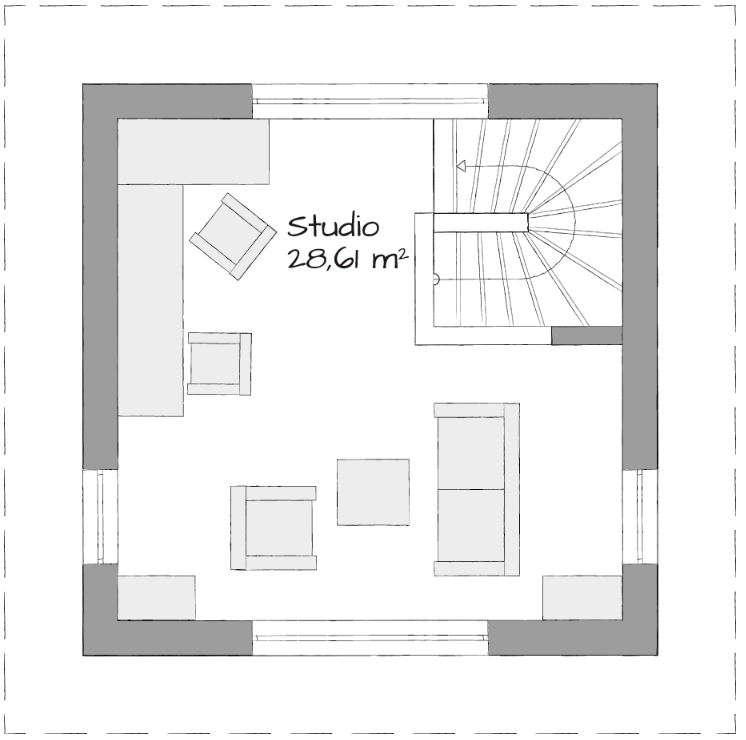 Musterhaus in Langenhagen-Hannover - Eine nahaufnahme von text auf einem weißen hintergrund - Quadratmeter