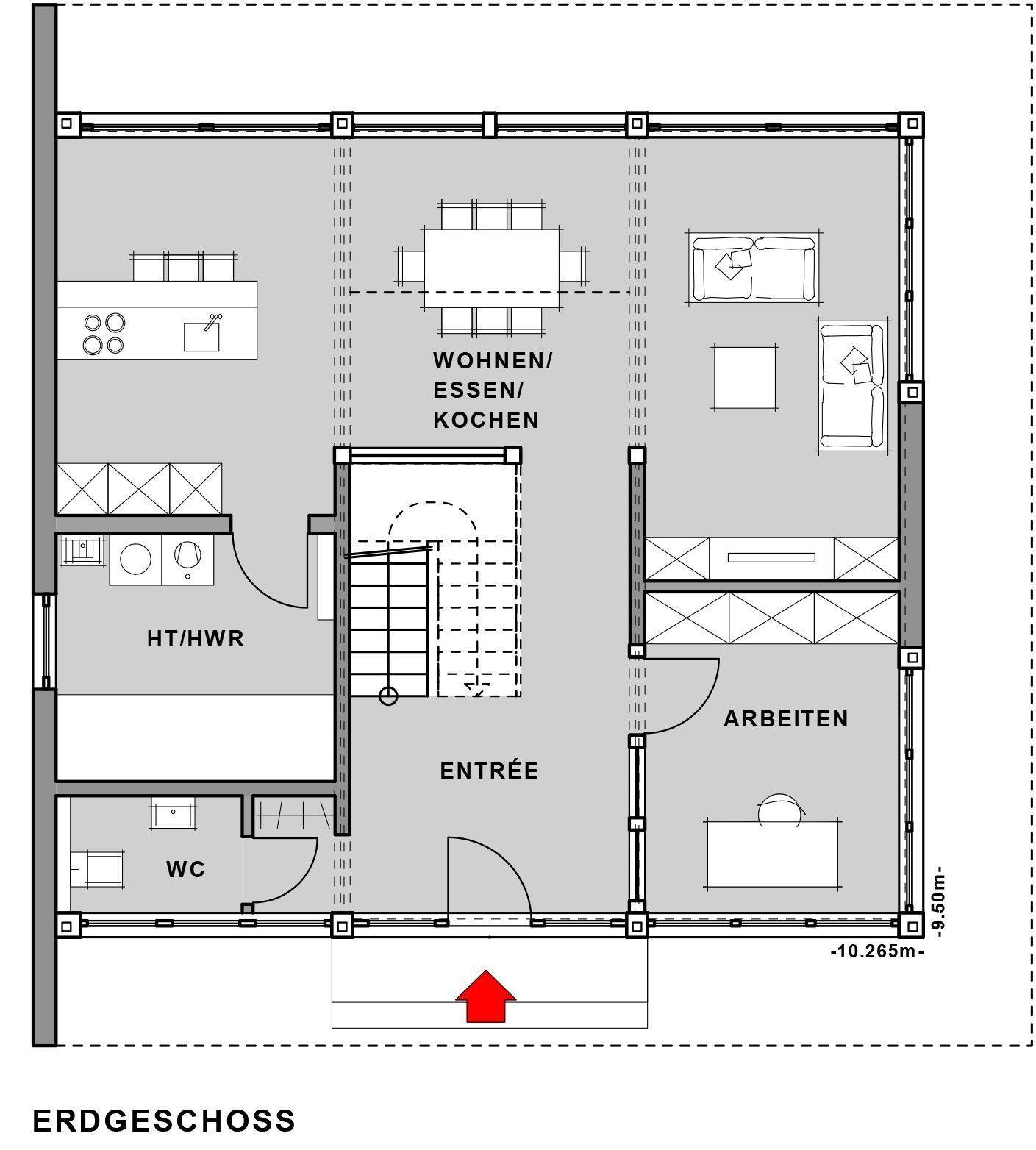 Musterhaus Fusion - Eine Nahaufnahme von einer Karte - Meisterstück-HAUS Vertriebs GmbH
