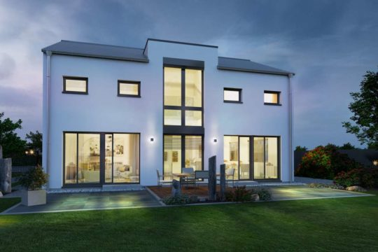Musterhaus Offenburg - Ein Blick auf ein Haus - OKAL Haus GmbH