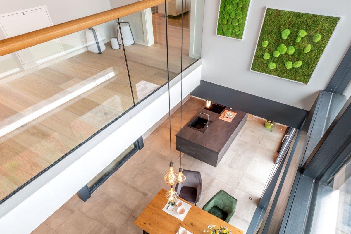 Musterhaus Fusion - Ein großer Raum - Die Architektur