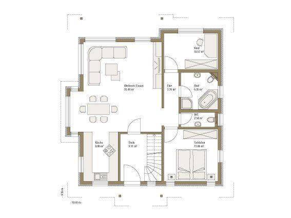 Family Classic - Eine Nahaufnahme eines Geräts - Gebäudeplan