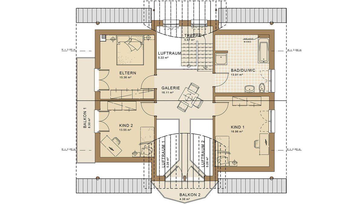Evolution Frankfurt - Eine Nahaufnahme von einer Karte - Die Architektur