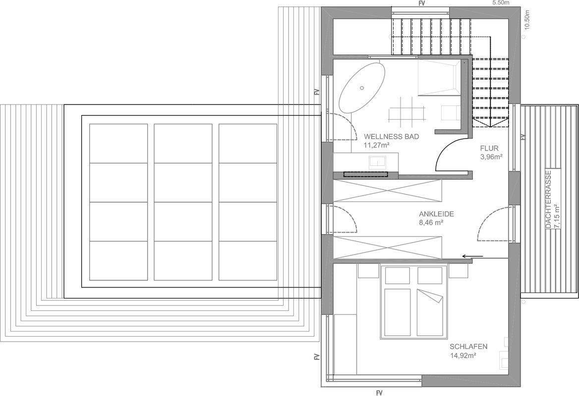 Musterhaus Fine - Eine Nahaufnahme von einem Stück Papier - Luxhaus