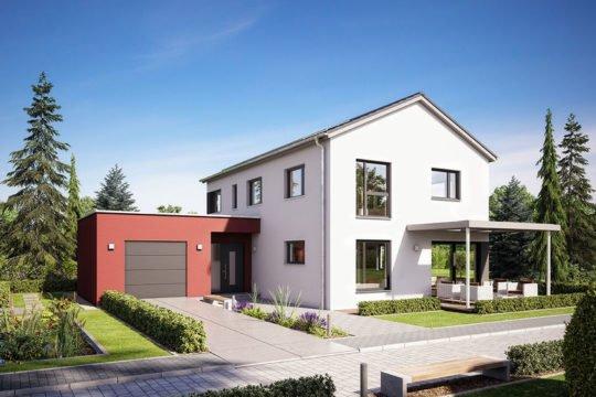 Variant 169 - Eine große Wiese vor einem Haus - Hanse Haus
