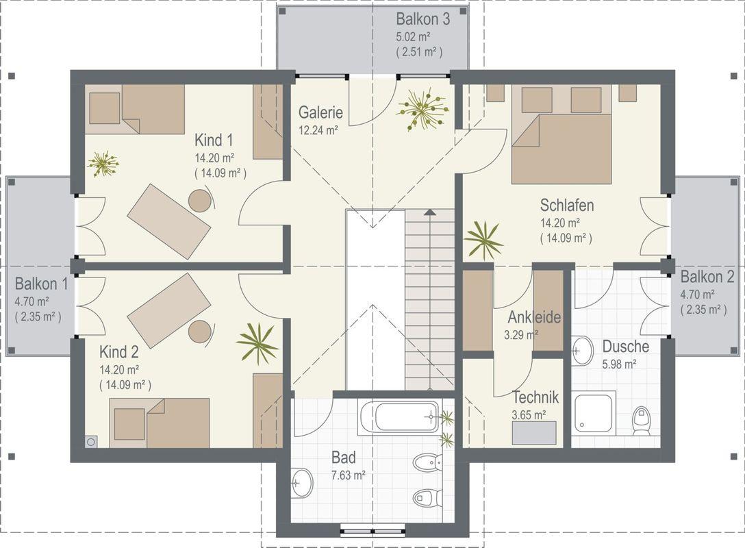 Keitel-Haus München - Eine Nahaufnahme von einer Karte - Gebäudeplan