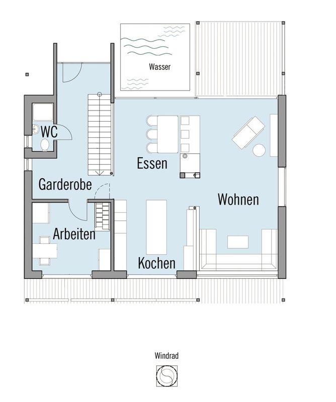 Alpenchic - Eine Nahaufnahme von einem Logo - Gebäudeplan