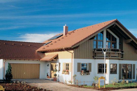 Wärme-Gewinnhaus Plan 229.3 - Das Dach eines Hauses - Haus