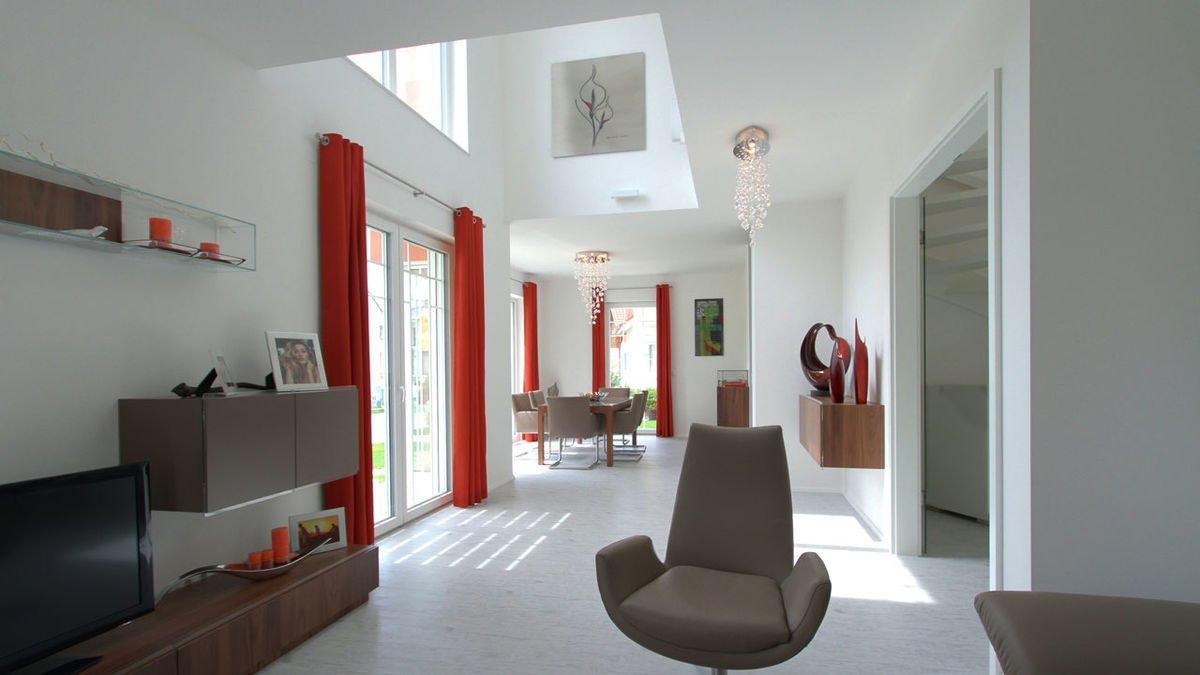 Passivhaus EOS 173 - Eine Ansicht eines Wohnzimmers - Interior Design Services