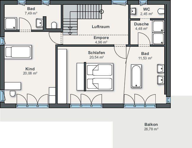 Ausstellungshaus Suhr - Ein Screenshot eines Handys - Gebäudeplan