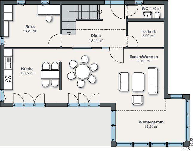 Ausstellungshaus Suhr - Eine Nahaufnahme eines Geräts - Gebäudeplan