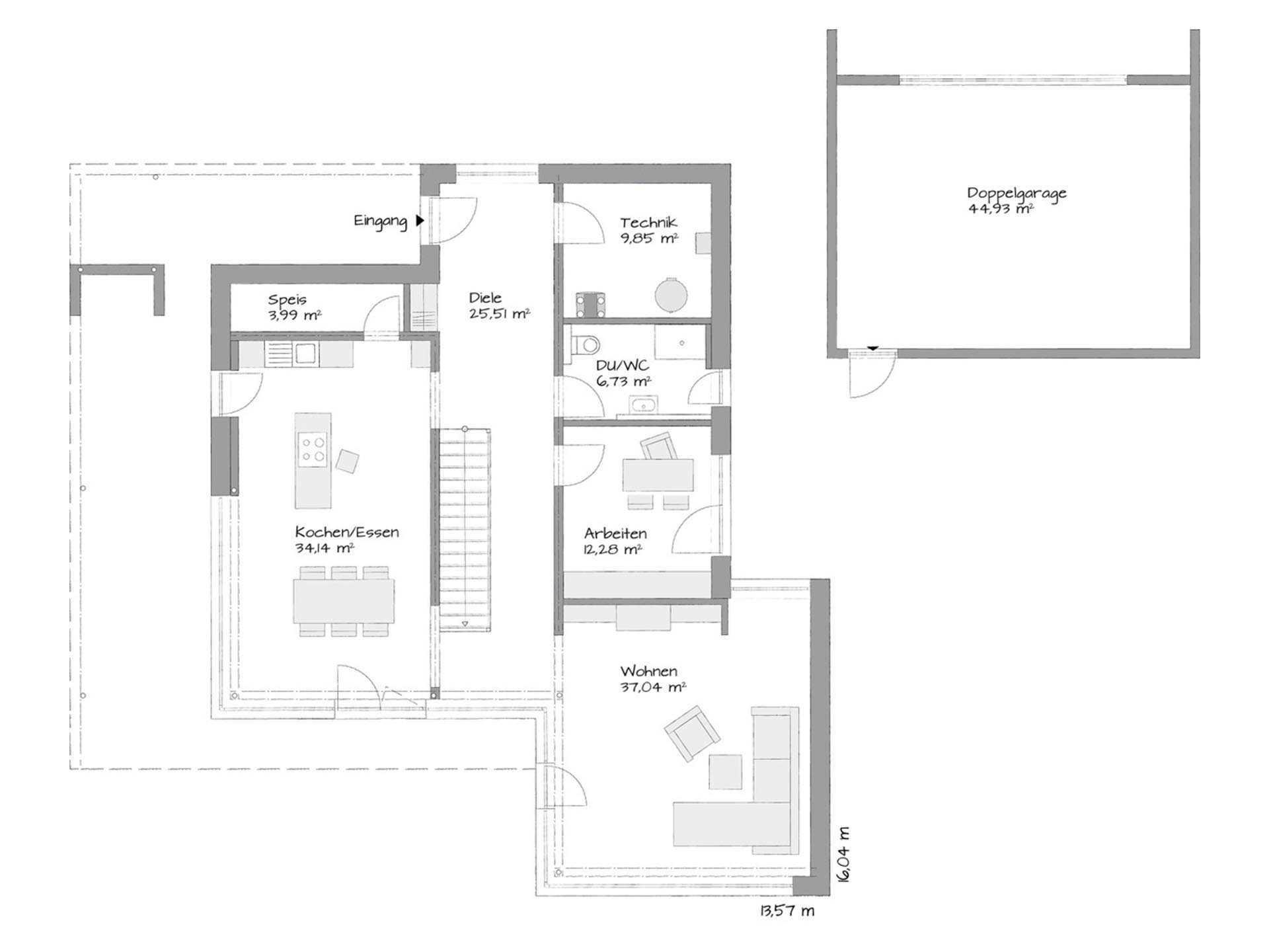 Kubos 1.2520 - Eine Nahaufnahme von einer Karte - Gebäudeplan