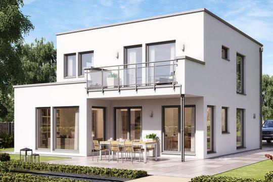 SUNSHINE 136 V8 - Ein großes weißes Gebäude - Haus