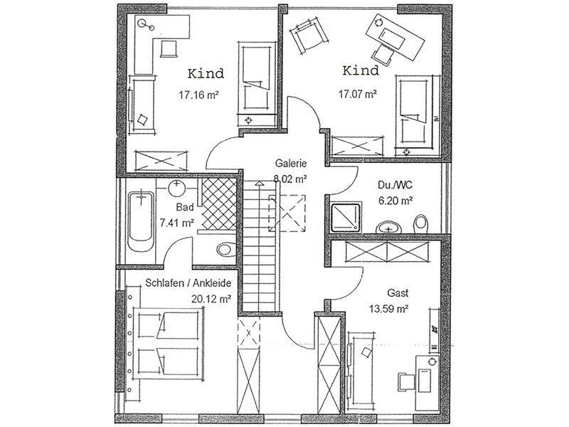 Bauhaus - Eine Nahaufnahme von einer Karte - Gebäudeplan