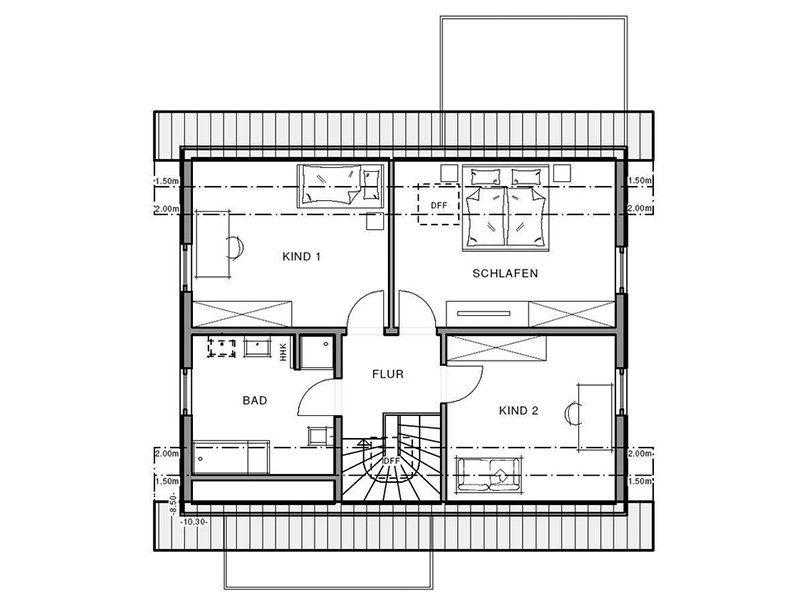 Freiraum Cube - Eine Nahaufnahme von einem Logo - Gebäudeplan
