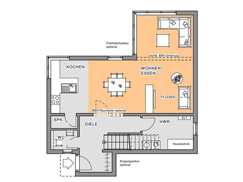 Kubus Edition Holz 65 - Eine Nahaufnahme eines Geräts - Gebäudeplan