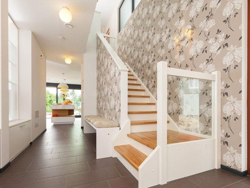 Musterhaus Hameln - Ein zimmer mit holzboden - Interior Design Services