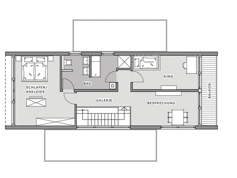Musterhaus Hameln - Gebäudeplan