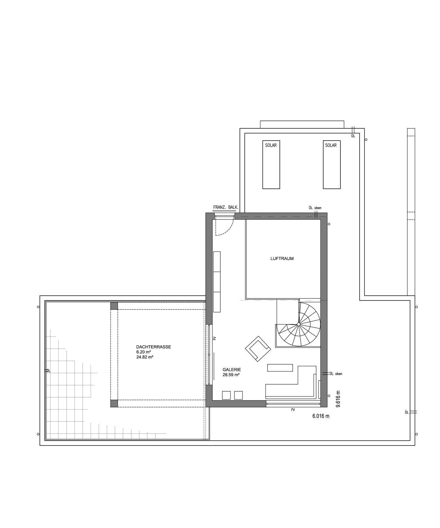 L³- Luxhaus Lifestyle Loft - Eine Nahaufnahme eines Geräts - Gebäudeplan