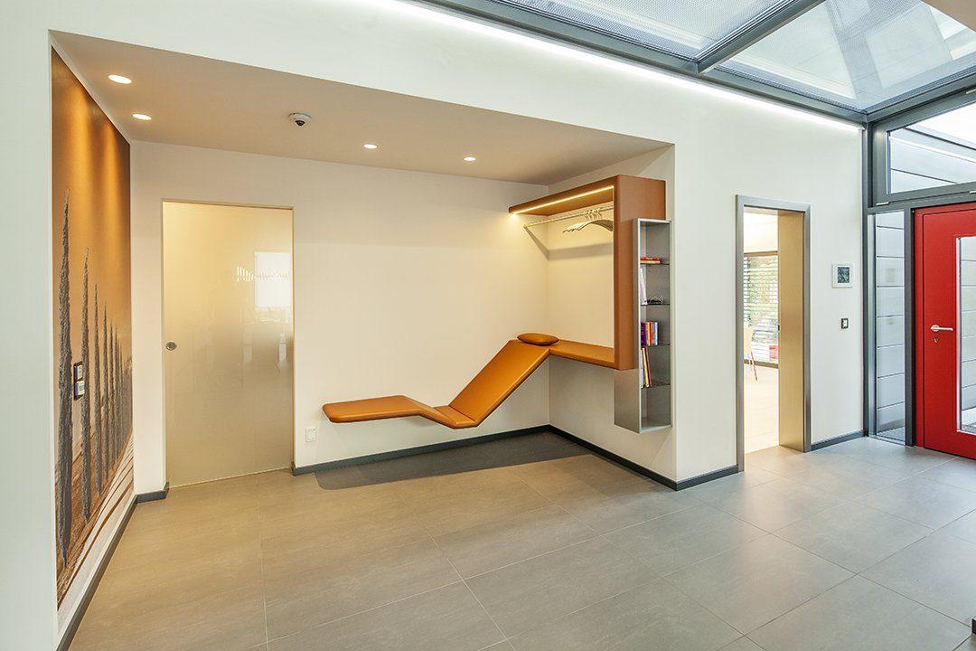 Musterhaus Fellbach Open - Ein großer leerer Raum - Haus