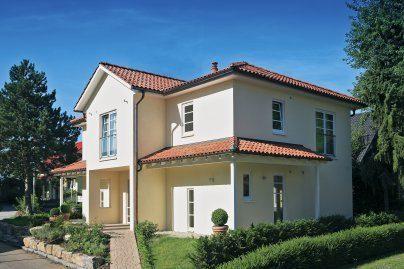 Kleine Villa - Ein kleines haus im hintergrund - Haus