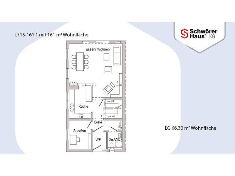 Plan D 15-161.1 - Eine nahaufnahme von text auf einem weißen hintergrund - Gebäudeplan