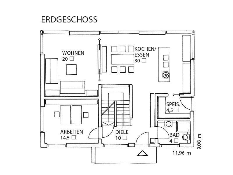 Musterhaus Auggen - Eine nahaufnahme von text auf einem weißen hintergrund - SchwörerHaus KG Musterhaus Auggen