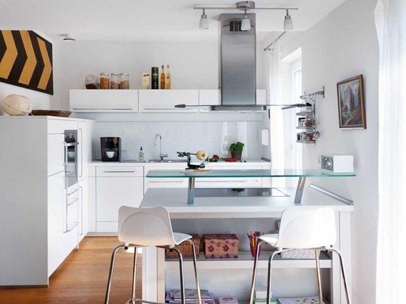 Plan D 15-111.2 - Eine Küche mit einem Tisch in einem Raum - Küche
