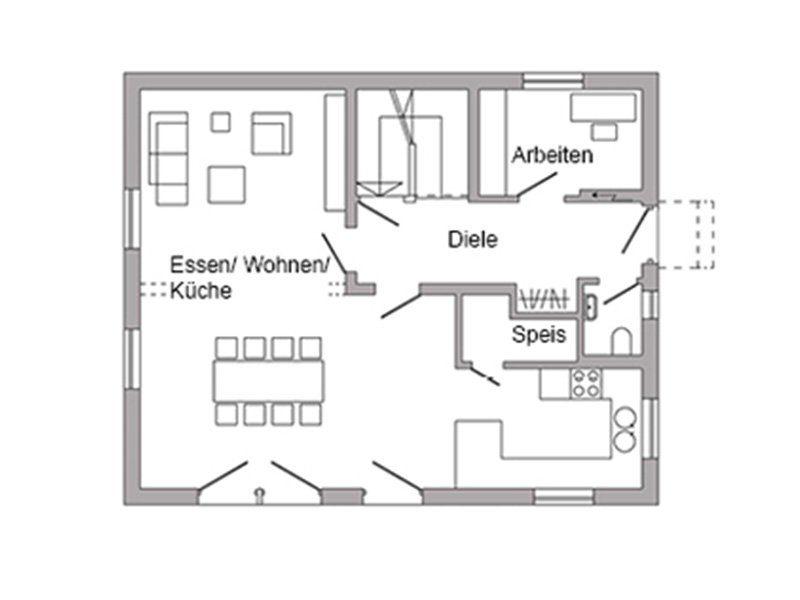 Plan E 15-131.1 - Eine nahaufnahme von text auf einem weißen hintergrund - Gebäudeplan