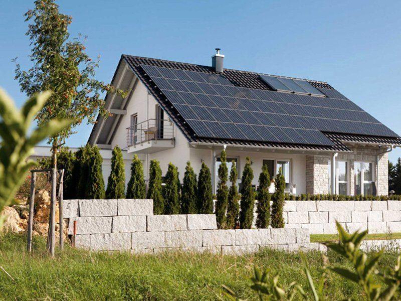 Plan E 15-171.1 - Das Dach eines Hauses - Haus