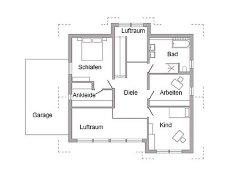 Plan E 15-189.1 - Eine Nahaufnahme von einer Karte - Gebäudeplan