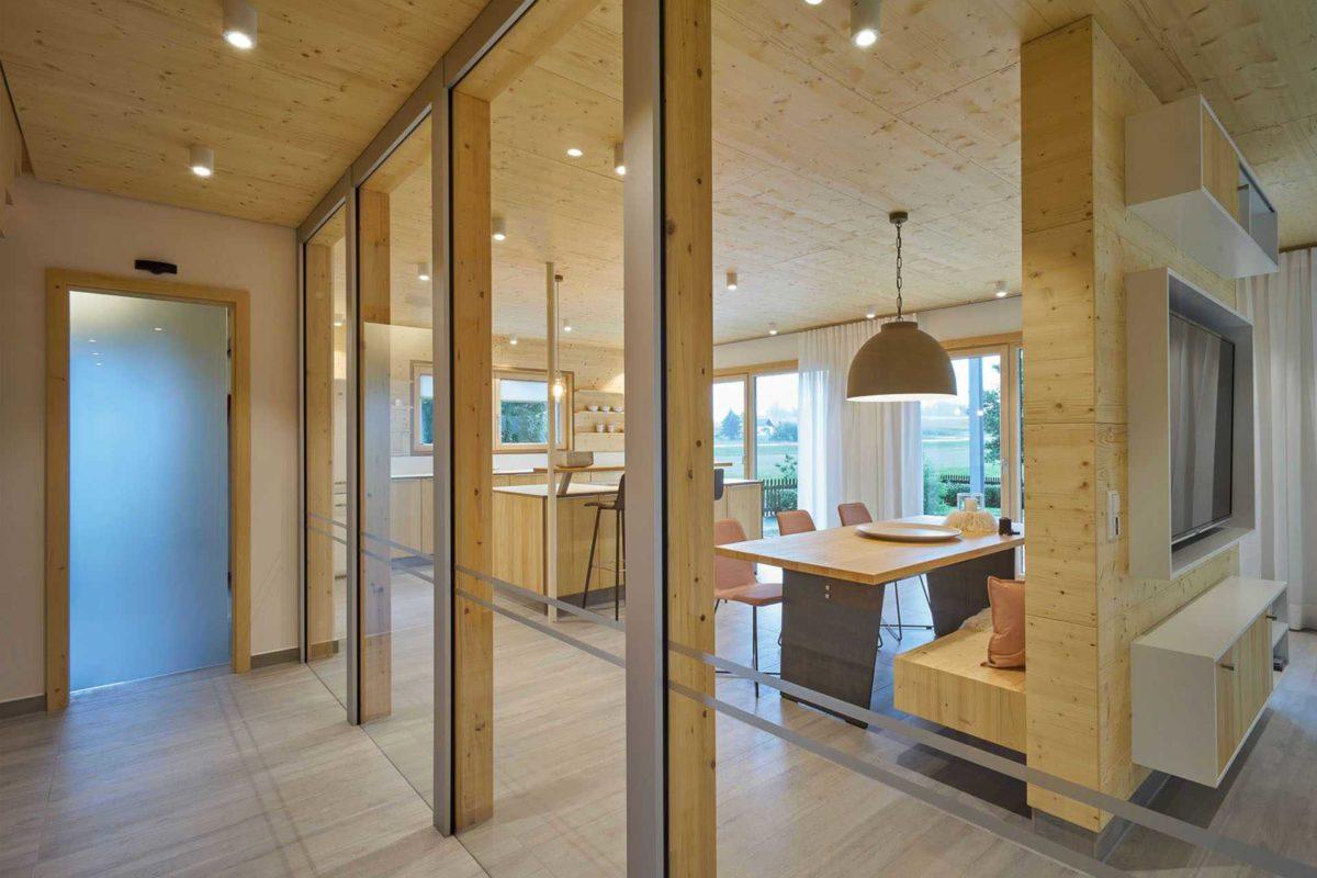 Musterhaus Casa Vita - Ein großer Raum - Die Architektur
