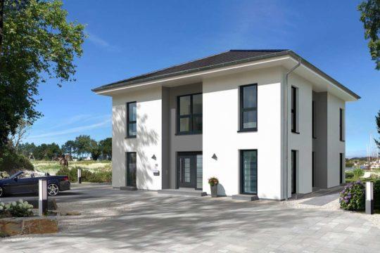City Villa 1 - Ein Haus mit Bäumen im Hintergrund - Villa