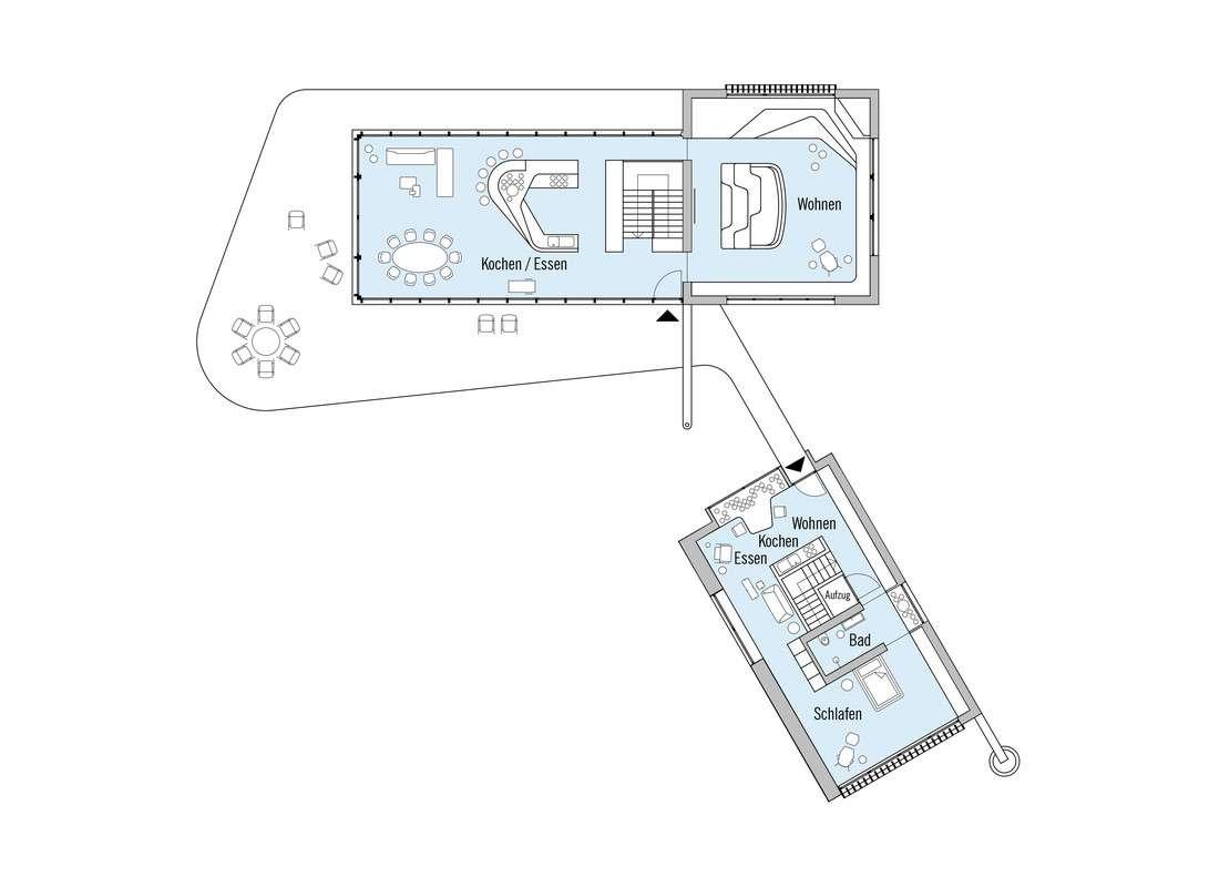 Haussicht - Eine Nahaufnahme von einer Karte - Bau-Fritz GmbH & Co. KG, seit 1896