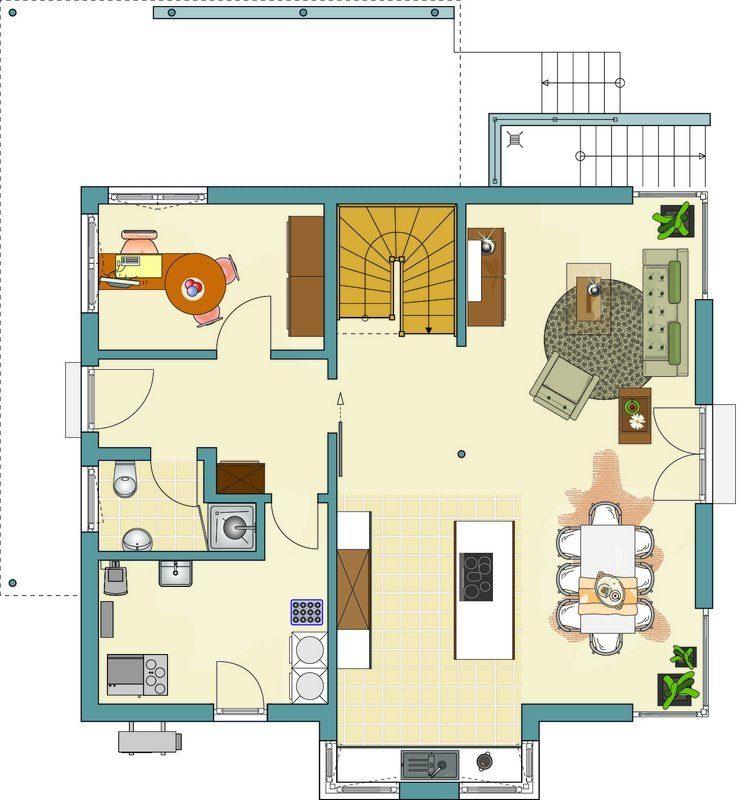 Aktionshaus MEDLEY 3.0 – Musterhaus Werder - Eine Nahaufnahme von einer Karte - FingerHaus