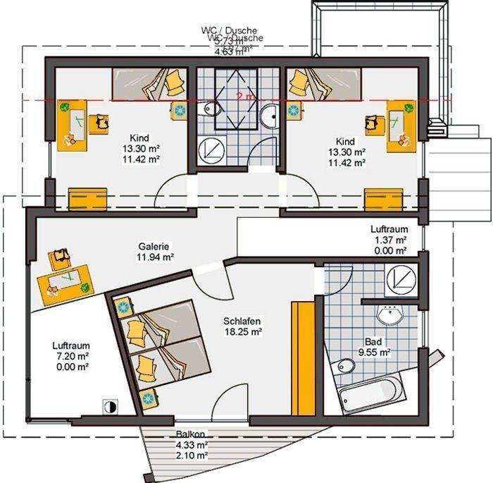 Musterhaus Pascino - Eine Nahaufnahme von einer Karte - Büdenbender Hausbau GmbH