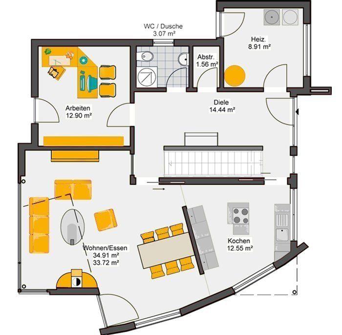 Musterhaus Pascino - Eine Nahaufnahme von einer Karte - Büdenbender Hausbau Musterhaus Pascino