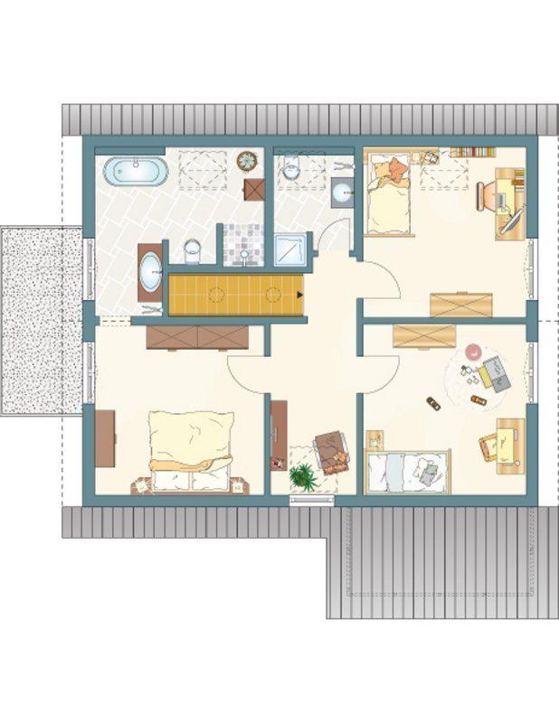 NEO 312 – Musterhaus Wuppertal (Aktionshaus) - Eine Nahaufnahme von einem Logo - Gebäudeplan
