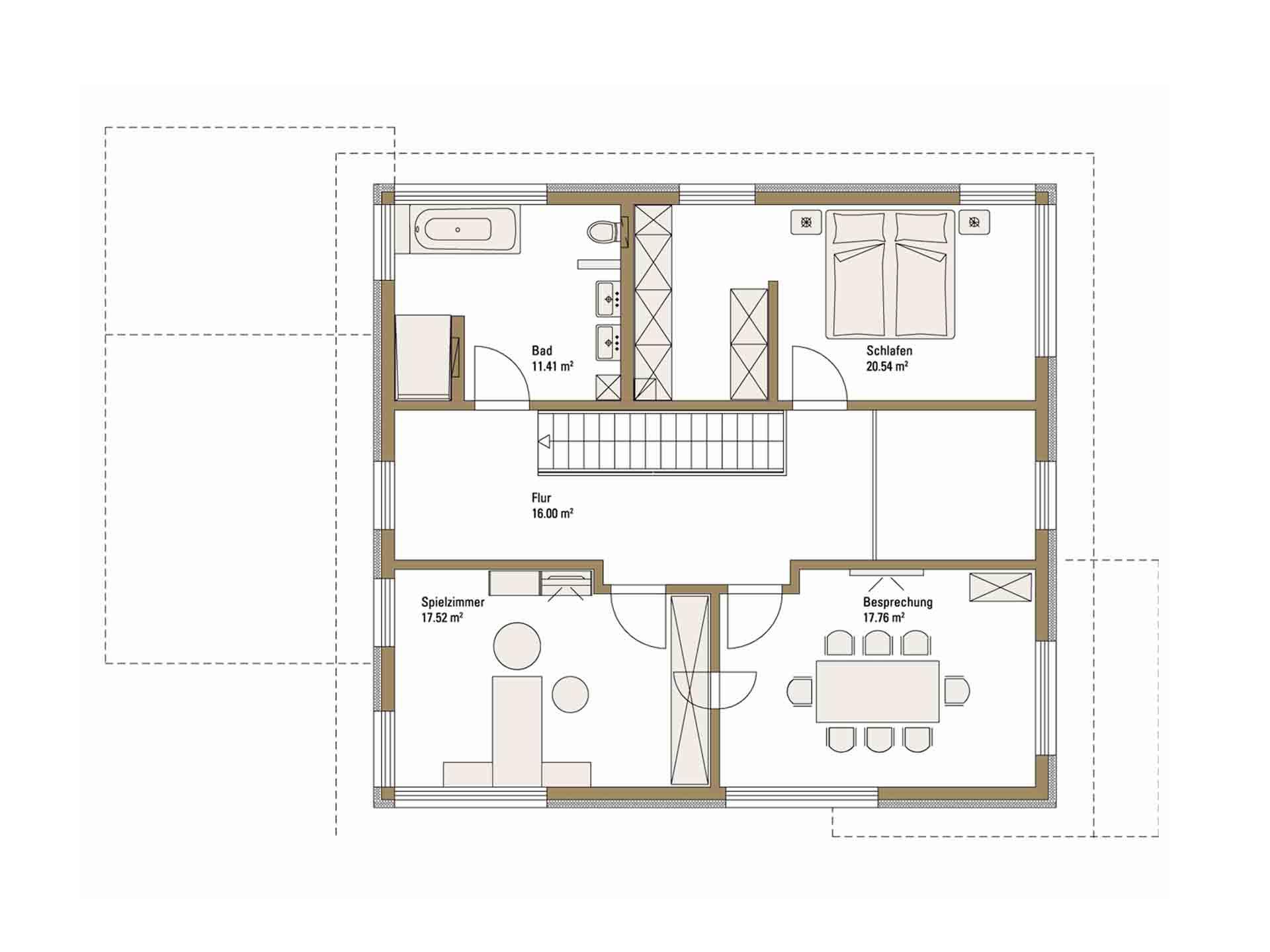 Musterhaus Future - Eine Nahaufnahme von einer Karte - Ein eigenes Heim