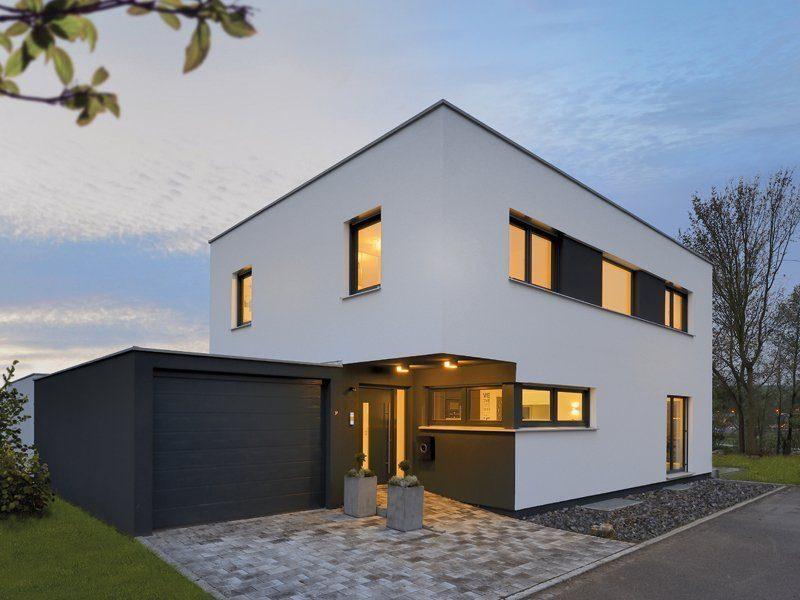 Hausvergleich Flachdachhäuser