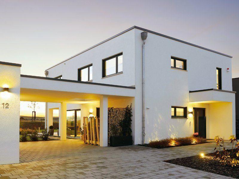 Hausvergleich Häuser mit Flachdach