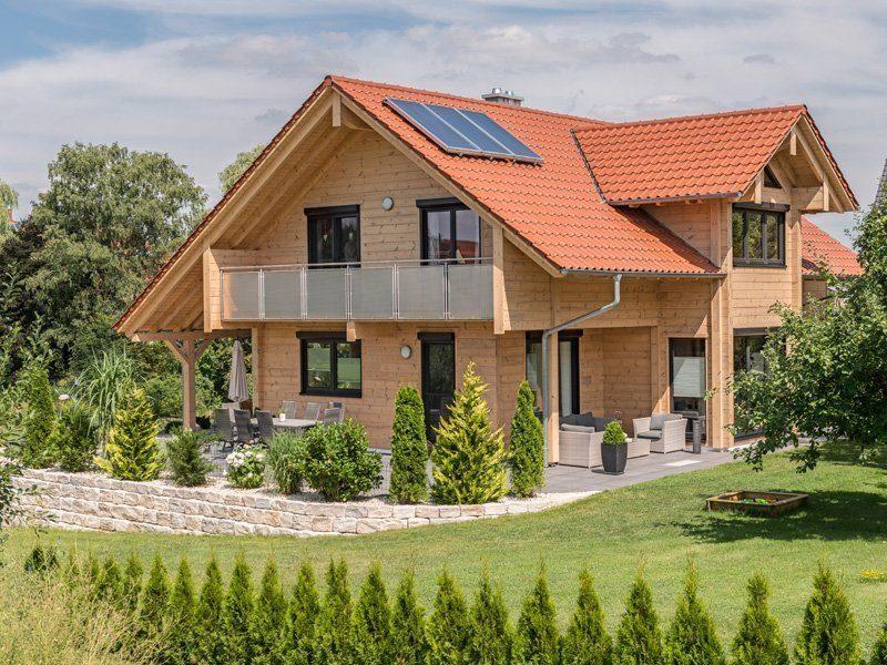 Hausvergleich Massivholzhäuser