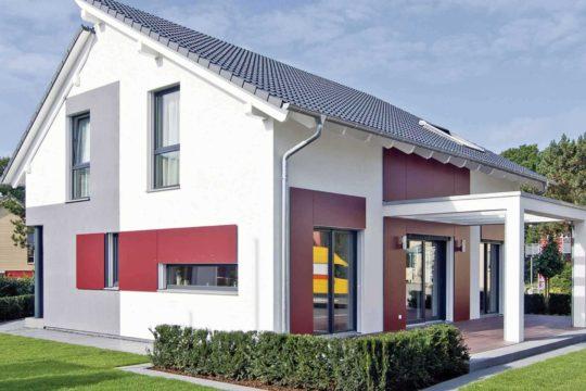 generation5.5 Bad Vilbel - Eine große Wiese vor einem Haus - WeberHaus GmbH & Co. KG