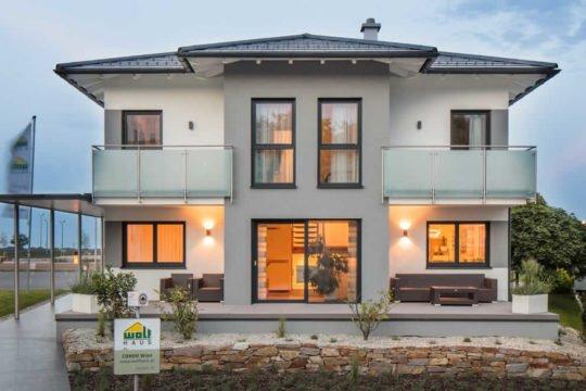 Automatisch gespeicherter Entwurf - Ein Blick auf ein Haus - Haus