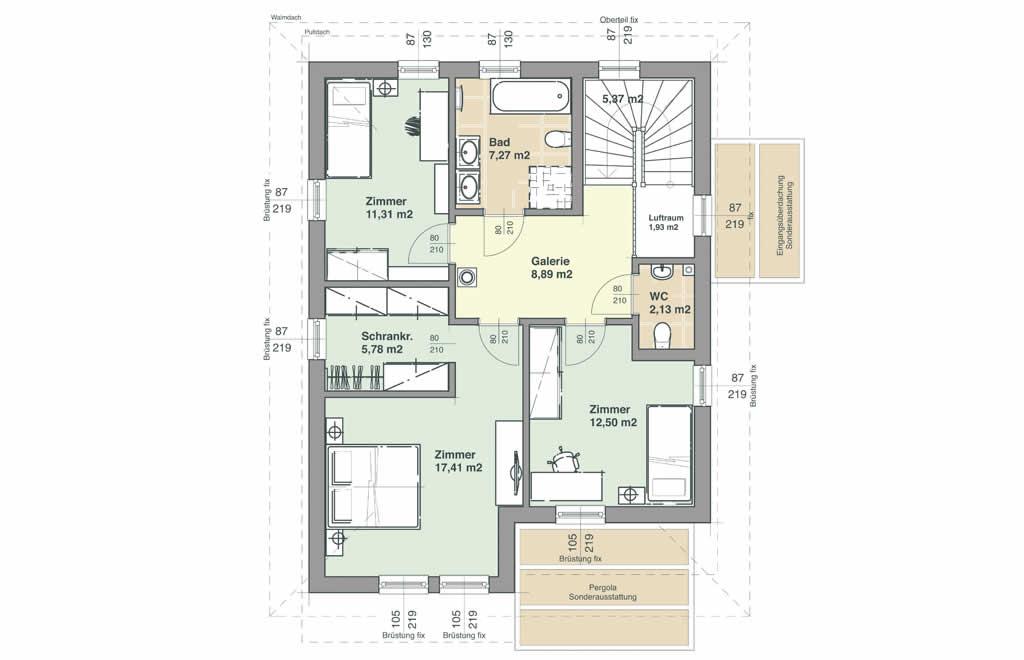 Comfort 143 - Ein Screenshot eines Handys - ELK Fertighaus GmbH