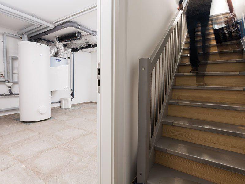 """Preiswürdiger """"TechnoSafe-Keller"""" – Nur so viel Keller, wie man wirklich braucht - Ein großer Raum - Haus"""