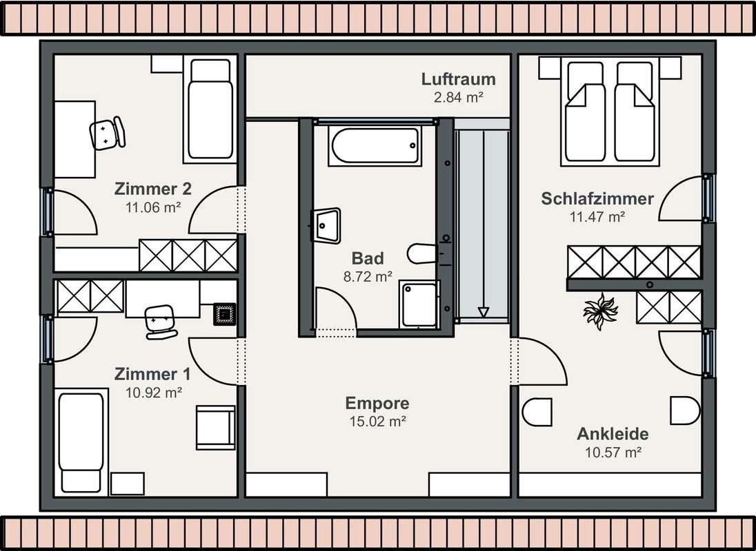 WeberHaus Dölzig - Eine Nahaufnahme von einem Logo - Gebäudeplan