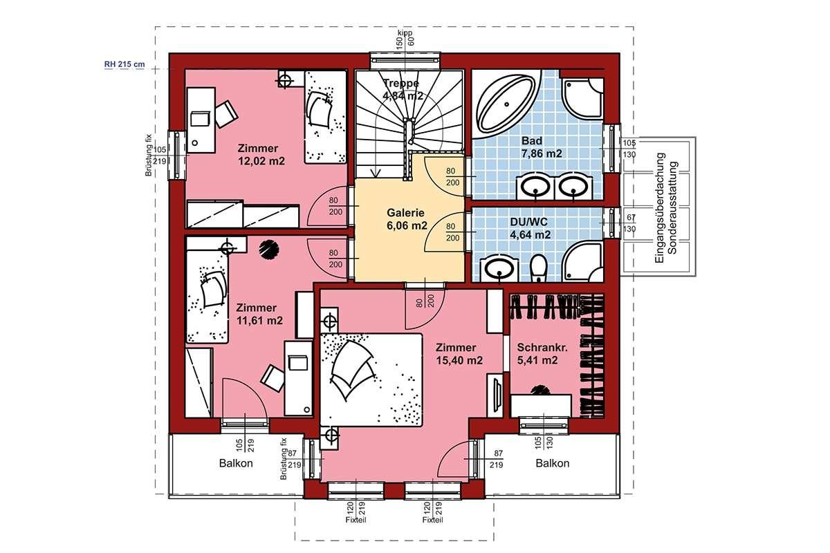 Evolution Nürnberg - Eine Nahaufnahme einer Uhr - Gebäudeplan