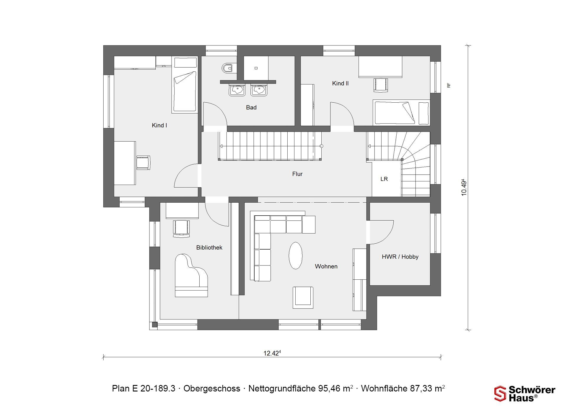 Kubushaus modern - Eine Nahaufnahme einer Uhr - Gebäudeplan