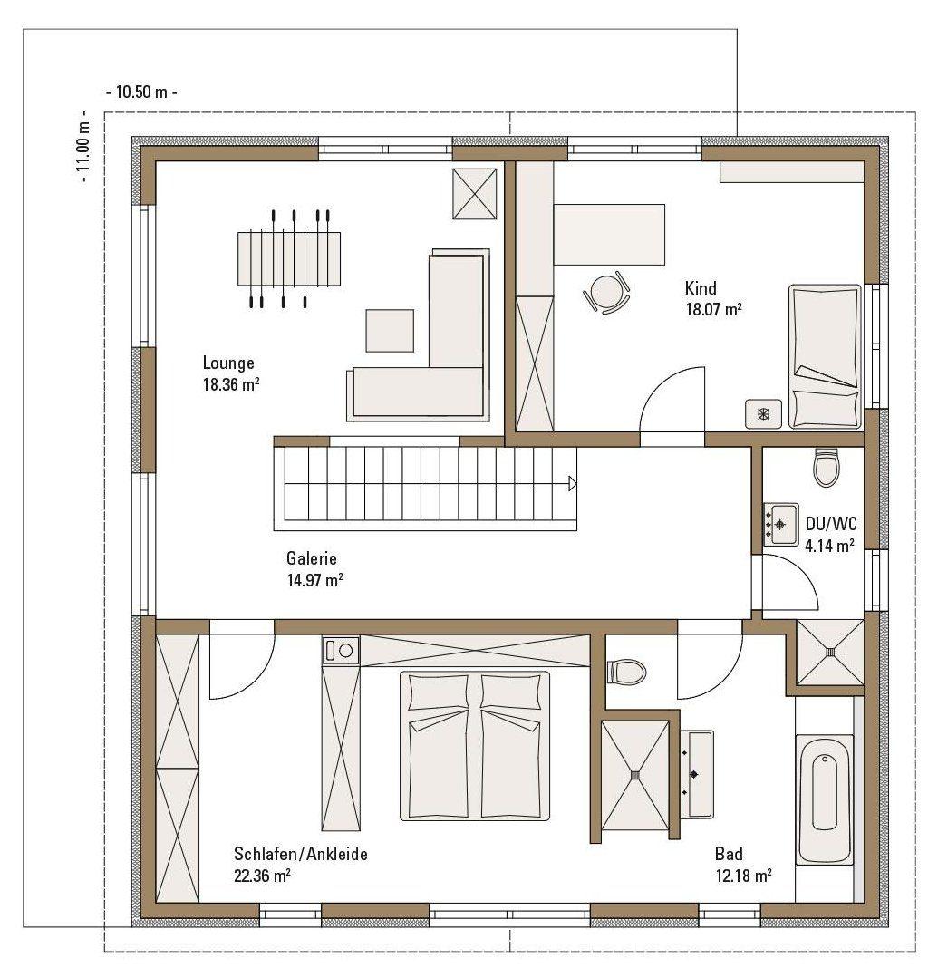 Musterhaus RELAX - Eine nahaufnahme von text auf einem weißen hintergrund - Gebäudeplan
